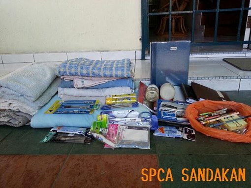 SPCA Sandakan wishlist for office