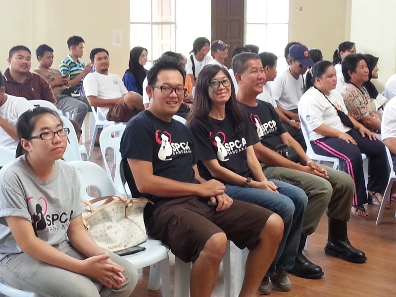 SPCA Sandakan Visits The Blind Association