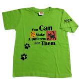 Make A Difference Green T-Shirt