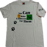 Make A Difference White T-Shirt