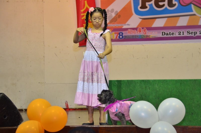 young contestant for my pet my buddy 2014