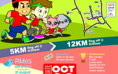 SPCA Sandakan Fun Run 2017